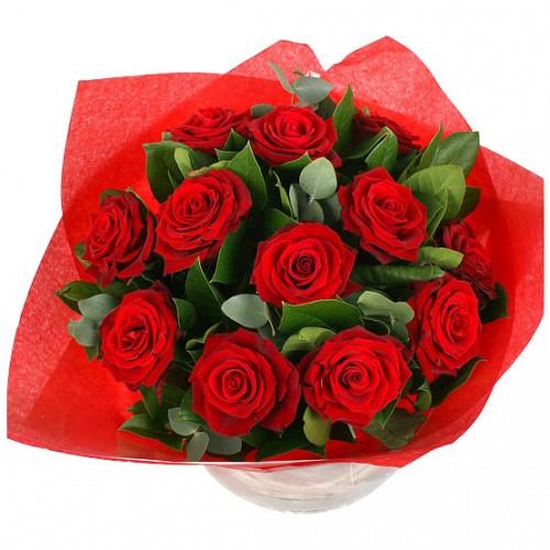 Klassikeren - røde roser